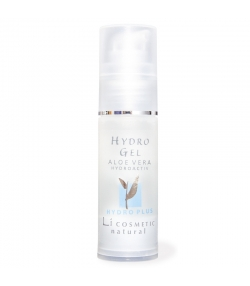 Natürliches feuchtigkeitsspendendes Gel Aloe Vera & Rose - 30ml - Li cosmetic Hydro
