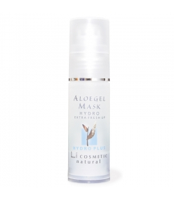 Masque gel hydratant naturel aloe vera & rose - 30ml - Li cosmetic Hydro
