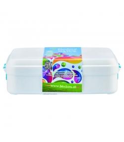 Grande lunch box avec fermeture en BIO-PE - 1 pièce - Biodora