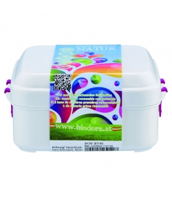 Petite lunch box avec fermeture en BIO-PE - 1 pièce - Biodora