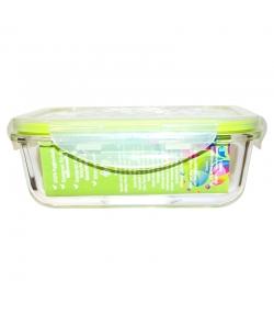 Grosse Lunch Box aus Glas mit Deckel aus Plastik - 1l, 1 Stück - Dora's