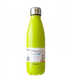 Thermosflasche hellgrün aus Edelstahl - 500ml, 1 pièce - Dora's