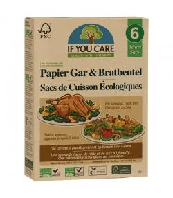 Sacs de cuisson écologiques - 6 pièces - If You Care