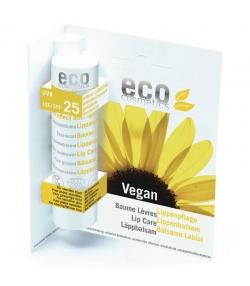 Baume à lèvres solaire BIO IP 25 tournesol & argousier - 4g - Eco Cosmetics