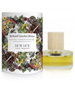 Eau de parfum BIO Terroir Perfumes 38°N 16°E - Italie - Bergamote - 50ml - Richard Lüscher Britos