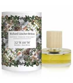 Eau de parfum BIO Terroir Perfumes 32°N 08°W - Maroc - Nana Menthe - 50ml - Richard Lüscher Britos