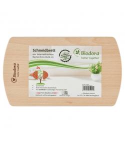Schneidbrett aus Buche - 1 Stück - Biodora