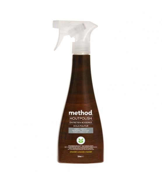 Nettoyant spray pour meubles & boiseries écologique amande - 354ml - Method