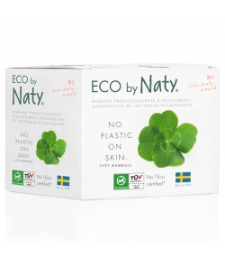 Coussinets d'allaitement BIO - 30 pièces - Naty