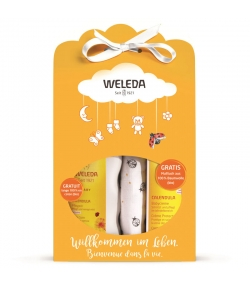 Coffret-cadeau bébé BIO - Weleda