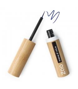 Eyeliner pinceau BIO N°072 Bleu électrique - 4,5ml - Zao Make-up