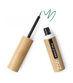 Eyeliner pinceau BIO N°073 Vert émeraude - 4,5ml - Zao Make-up