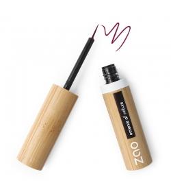 Eyeliner pinceau BIO N°074 Prune - 4,5ml - Zao Make-up