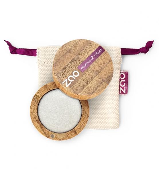 BIO-Lidschatten perlmutt N°101 Weiss - 3g - Zao Make-up