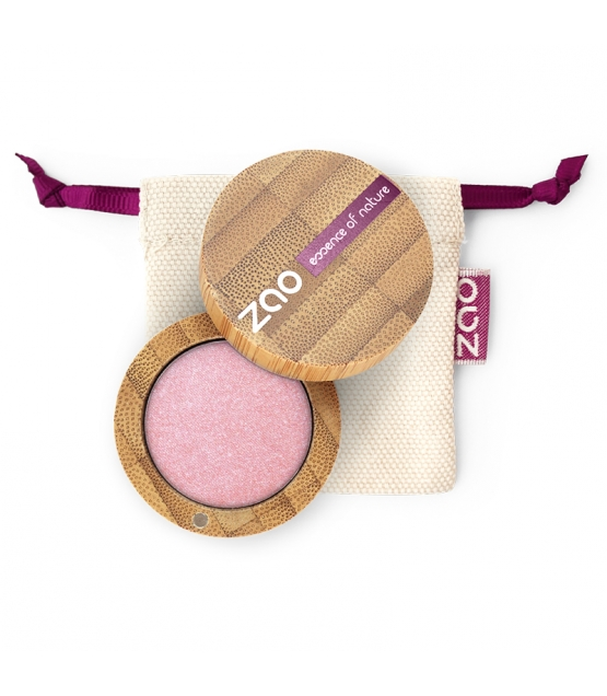 BIO-Lidschatten perlmutt N°103 Altrosa - 3g - Zao Make-up