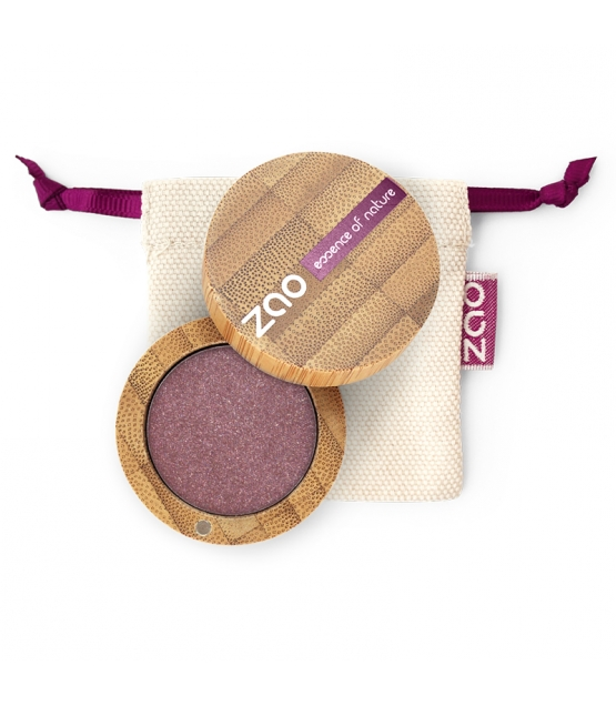 BIO-Lidschatten perlmutt N°104 Granat - 3g - Zao Make-up