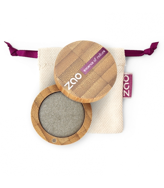 BIO-Lidschatten perlmutt N°108 Grau Grün - 3g - Zao Make-up