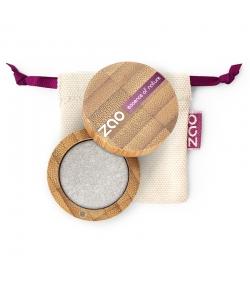 BIO-Lidschatten perlmutt N°114 Silber – 3g – Zao Make-up