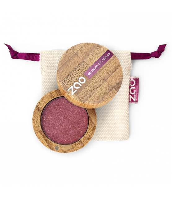 BIO-Lidschatten perlmutt N°115 Ruby - 3g - Zao Make-up