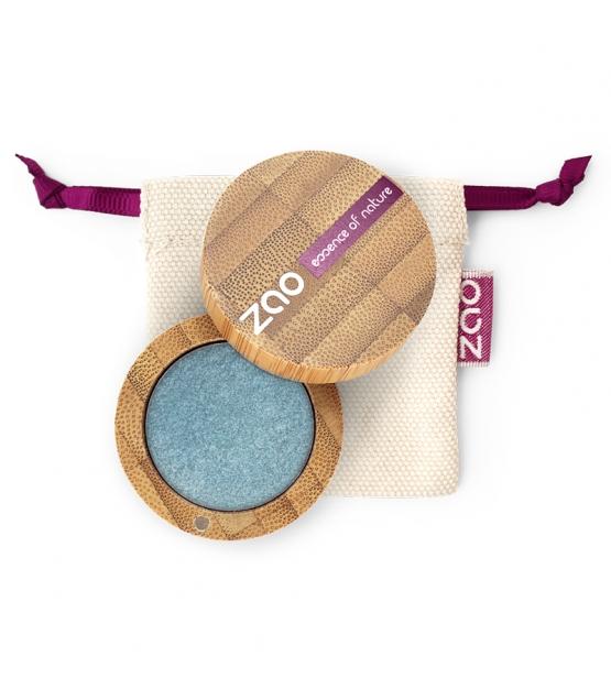 BIO-Lidschatten perlmutt N°116 Entenblau - 3g - Zao Make-up