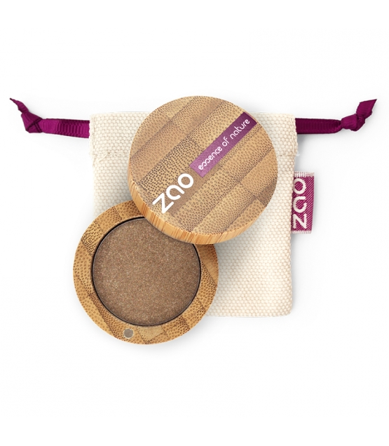 BIO-Lidschatten perlmutt N°117 Bronze rosé - 3g - Zao Make-up