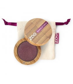 Fard à paupières nacré BIO N°118 Prune - 3g - Zao Make-up