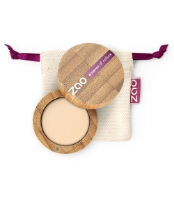 BIO-Lidschatten matt N°201 Elfenbein – 3g – Zao Make-up