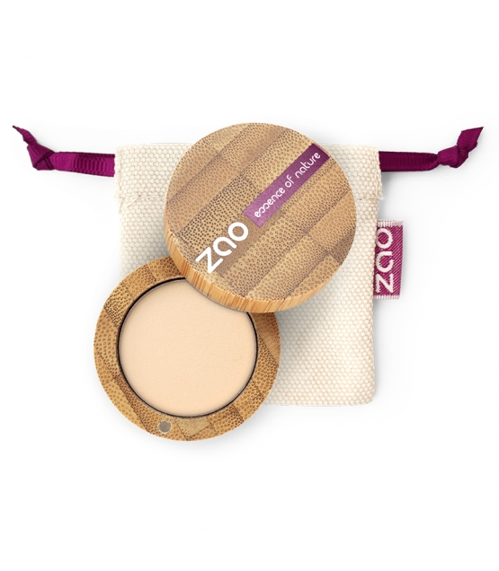 Fard à paupières mat BIO N°201 Ivoire - 3g - Zao Make-up