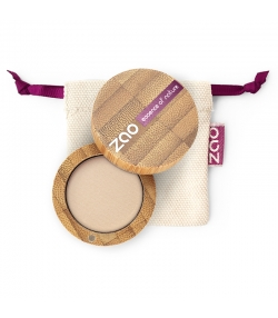 BIO-Lidschatten matt N°202 Braun Beige – 3g – Zao Make-up