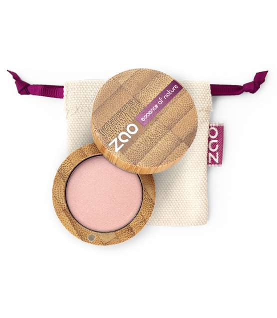Fard à paupières mat BIO N°204 Vieux rose doré - 3g - Zao Make-up