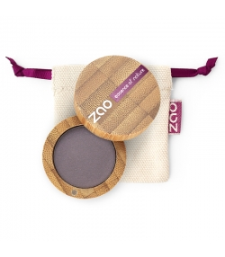 BIO-Lidschatten matt N°205 Dunkelviolett – 3g – Zao Make-up