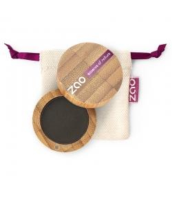 Fard à paupières mat BIO N°206 Noir – 3g – Zao Make-up