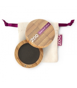 BIO-Lidschatten matt N°206 Schwarz – 3g – Zao Make-up