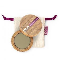 Fard à paupières mat BIO N°207 Vert olive – 3g – Zao Make-up