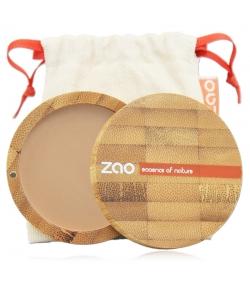 BIO-Kompaktpuder N°302 Orange Beige – 9g – Zao Make-up