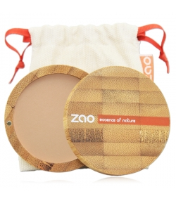 BIO-Kompaktpuder N°303 Braun Beige – 9g – Zao Make-up