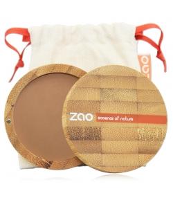 BIO-Kompaktpuder N°305 Milchschokolade – 9g – Zao Make-up