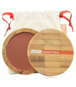 Fard à joues compact BIO N°321 Brun orange – 9g – Zao Make-up