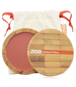 Fard à joues compact BIO N°322 Brun rosé – 9g – Zao Make-up