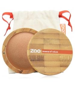 Terre cuite minérale BIO N°341 Cuivre doré – 15g – Zao Make-up
