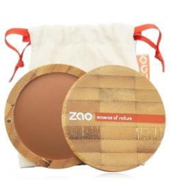 Terre cuite minérale BIO N°344 Chocolat – 15g – Zao Make-up