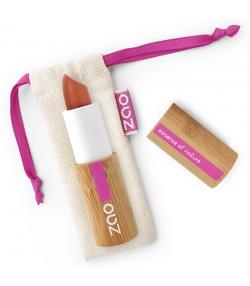 Rouge à lèvres nacré BIO N°407 Cuivre – 3,5g – Zao Make-up