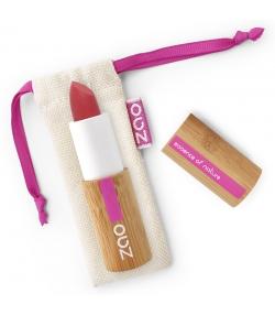 BIO-Lippenstift Soft Touch matt N°435 Granat Rot - 3,5g - Zao Make-up