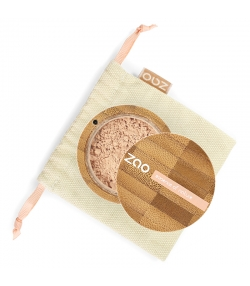 BIO-Make-up-Puder N°501 Hellbeige – 15g – Zao Make-up
