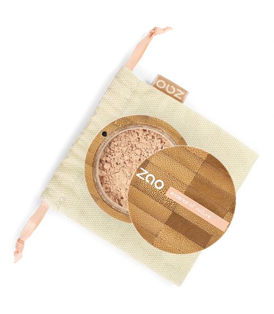 Fond de teint poudre BIO N°501 Beige clair - 15g - Zao Make-up