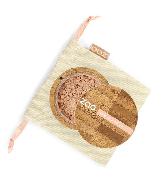 Fond de teint poudre BIO N°504 Beige - 15g - Zao Make-up