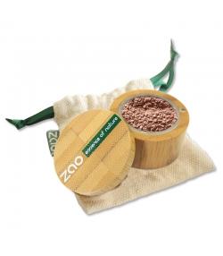 Fard à paupières poudre nacré BIO N°531 Or rouge – 2g – Zao Make-up