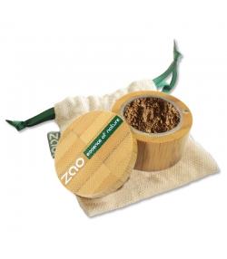 Fard à paupières poudre nacré BIO N°532 Bronze doré – 2g – Zao Make-up