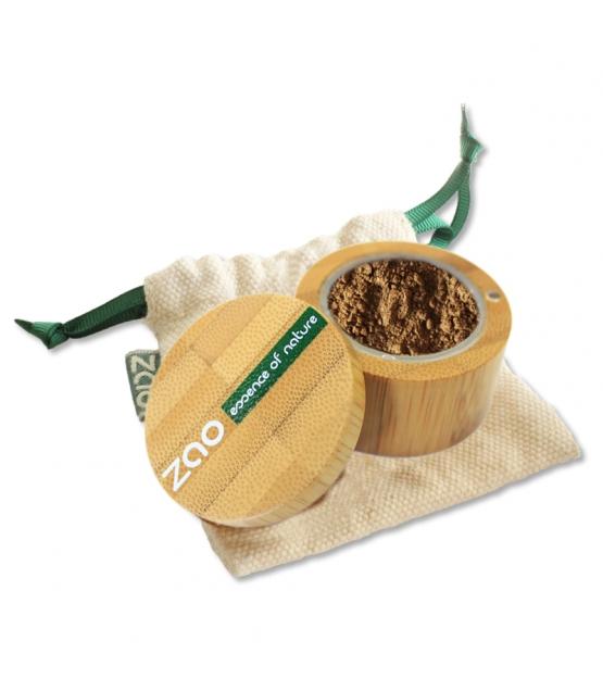 Fard à paupières poudre nacré BIO N°532 Bronze doré - 2g - Zao Make-up