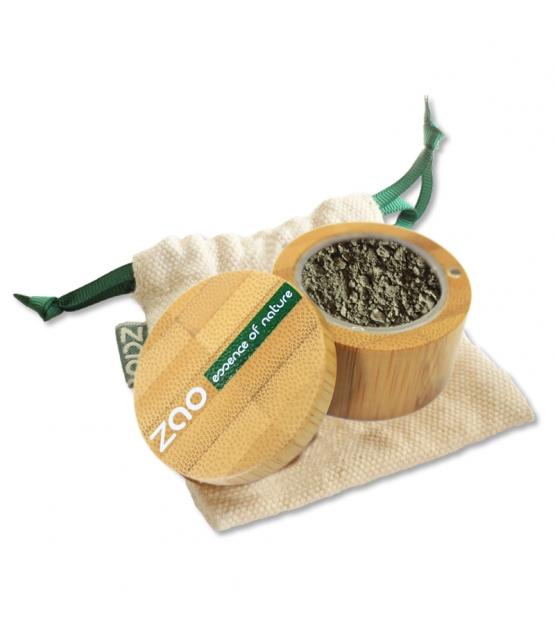 Fard à paupières poudre nacré BIO N°533 Vert doré - 2g - Zao Make-up